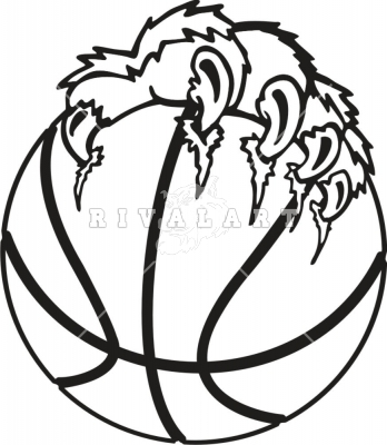 348x400 Wildcat clipart lion claws