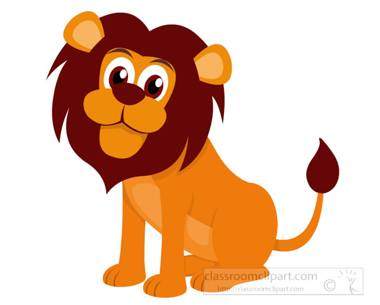 550x442 Lion Clipart Clipart Cartoon Style Big Eyes Lion Clipart 725