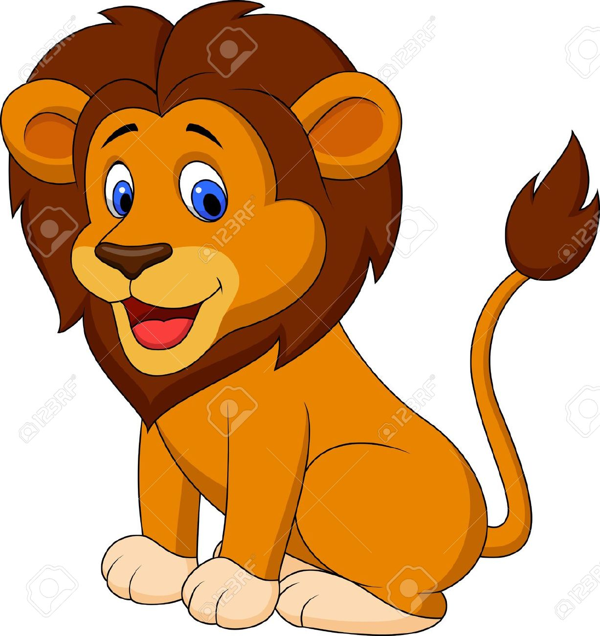 1227x1300 Lion Clipart Cartoon