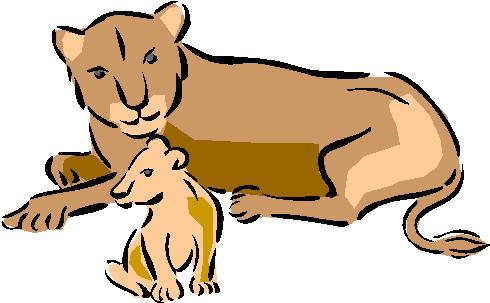 490x303 Lions Clip Art 2