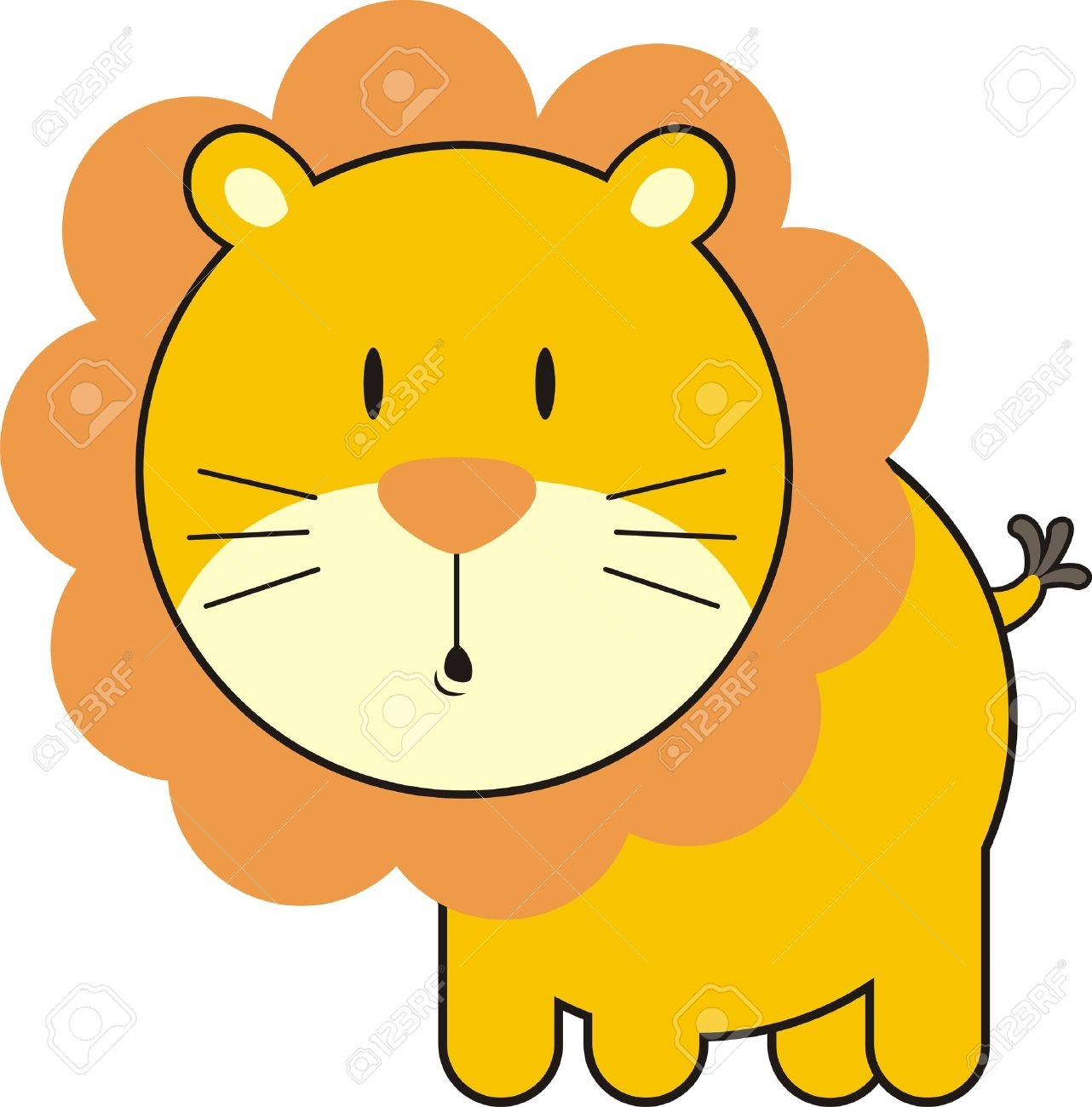 1282x1300 Face clipart baby lion