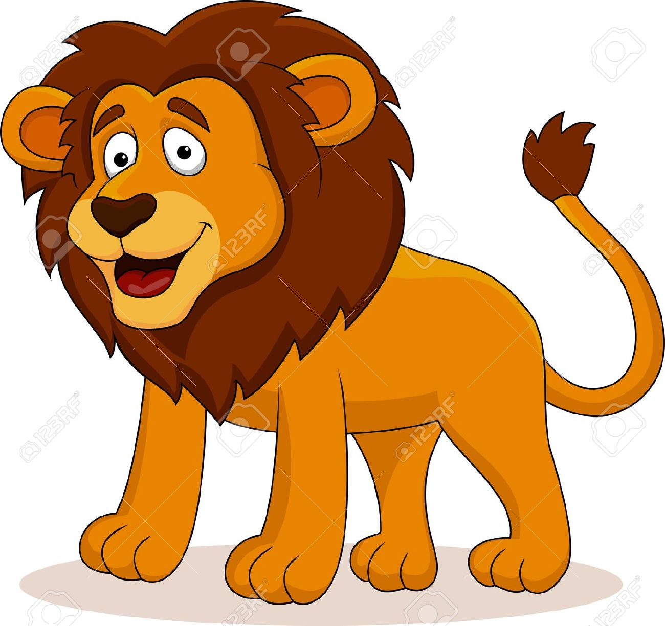 1300x1225 Lion clipart funny