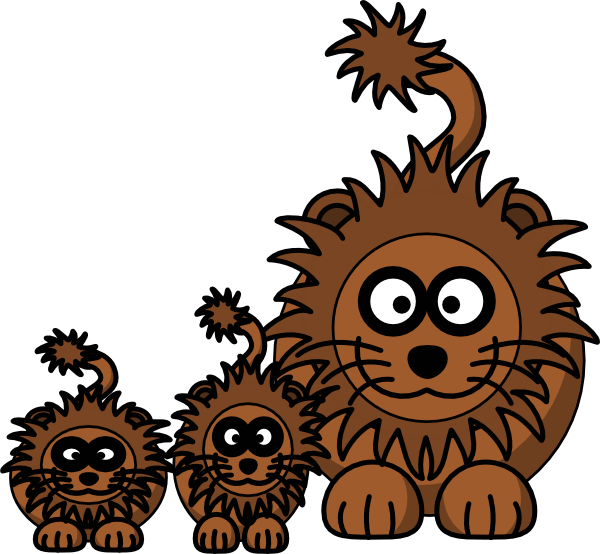 600x554 Mom Lion Clip Art Clip Art