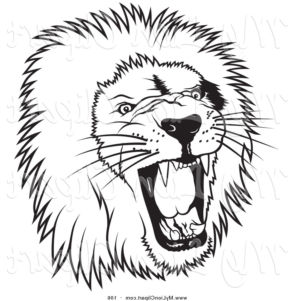 1024x1044 Lion Clip Art Black And White Black And White Lion Clipart
