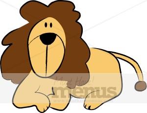 300x230 Lion Clipart Kids Menu Clipart