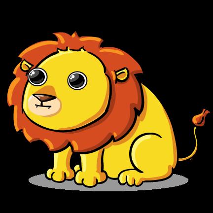 432x432 Lion Image Clip Art Free Vector Art