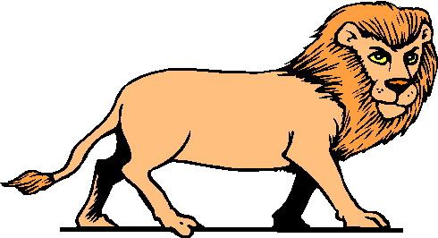 490x266 Free Lion Clipart