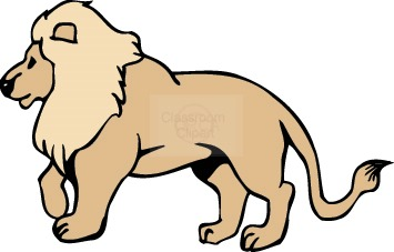355x227 Lion clipart transparent background