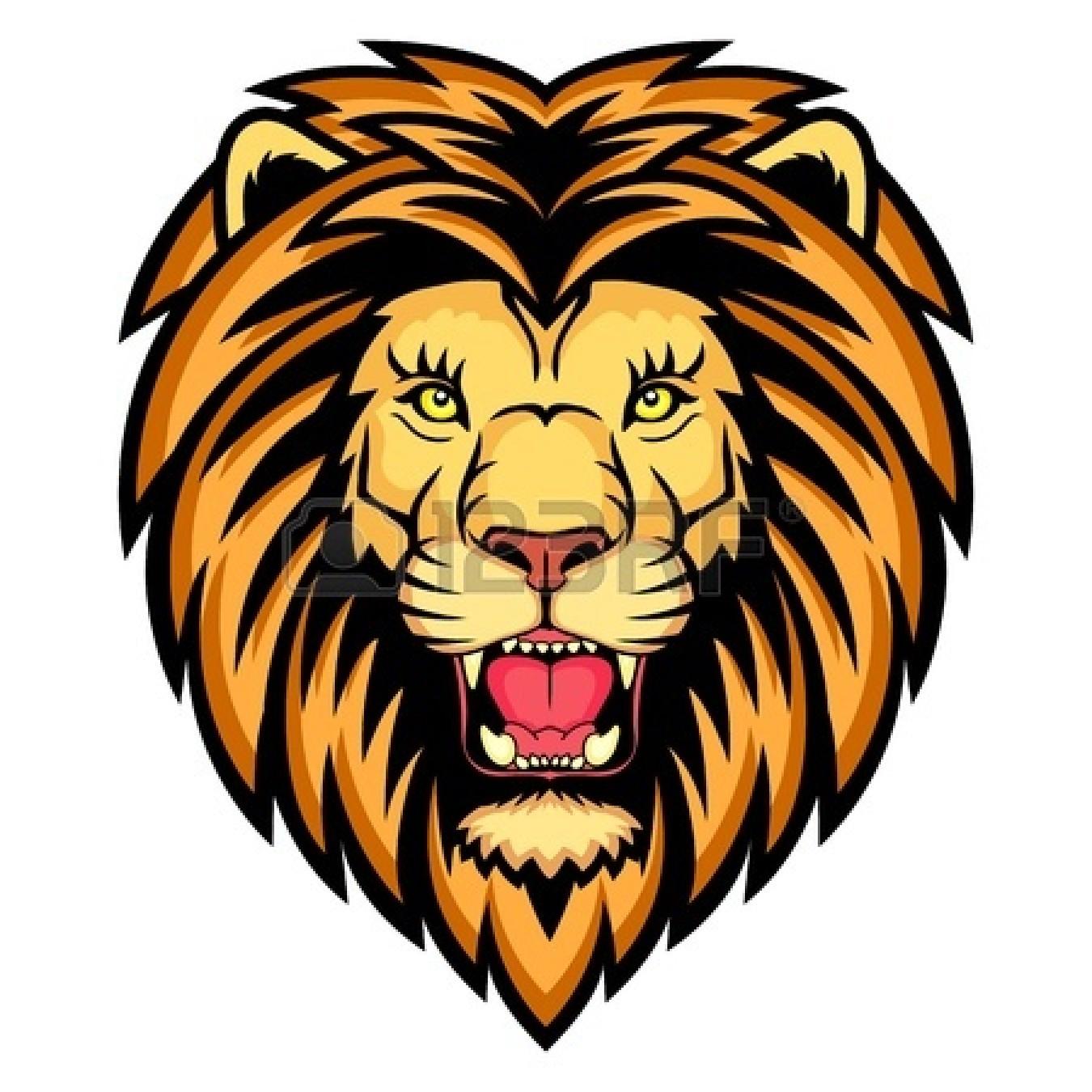 1350x1350 Lions Logo Clipart