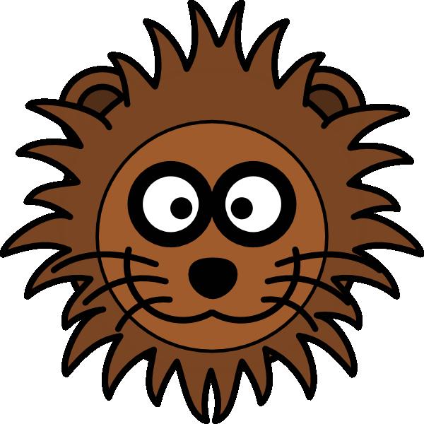 600x600 Lion Head Clip Art