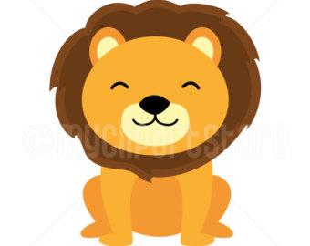 340x270 Lion Clipart Etsy