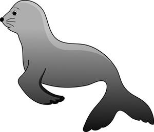 300x258 Sea Lion Clip Art Clipart Panda