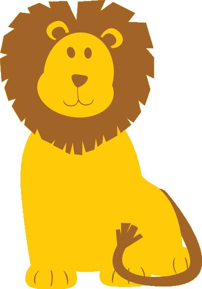414x592 Lion Clip Art