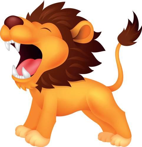 482x500 Lion Clip Art