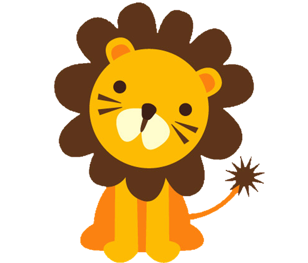 600x512 Baby Lion Clipart