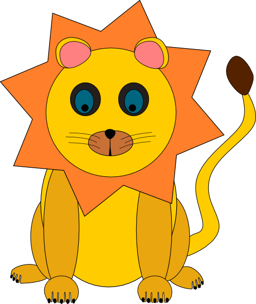 504x600 Baby Lion Clipart 8 Toy Lion Clip Art Free Vector Image