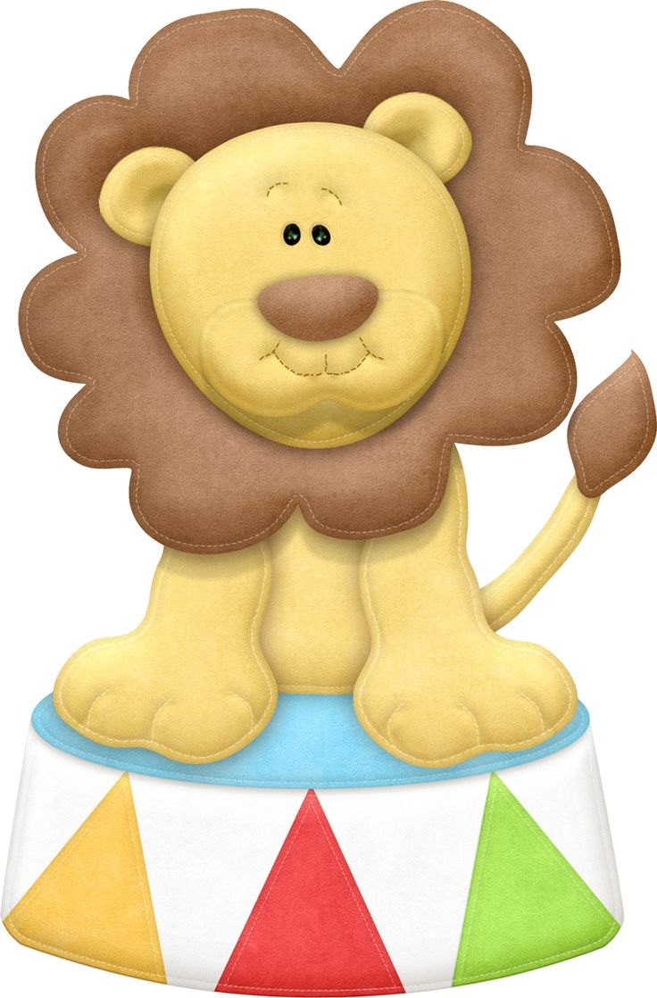 736x1118 Carnival Clipart Lion