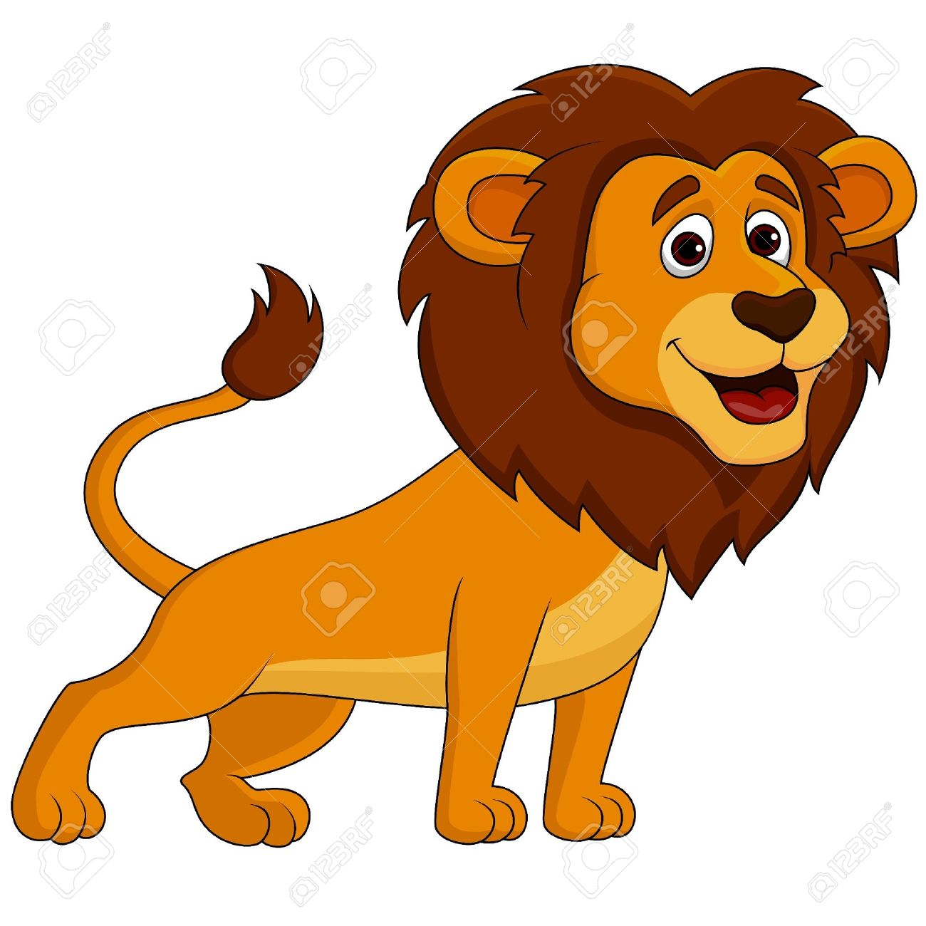 Lion Clipart Roaring   Free download on ClipArtMag