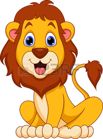 335x450 2,181 Young Lion Cliparts, Stock Vector And Royalty Free Young
