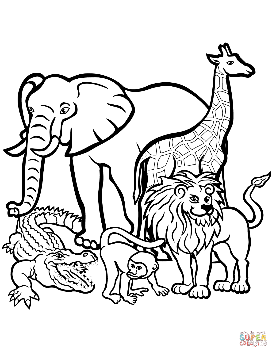 Lion Coloring Pages | Free download on ClipArtMag
