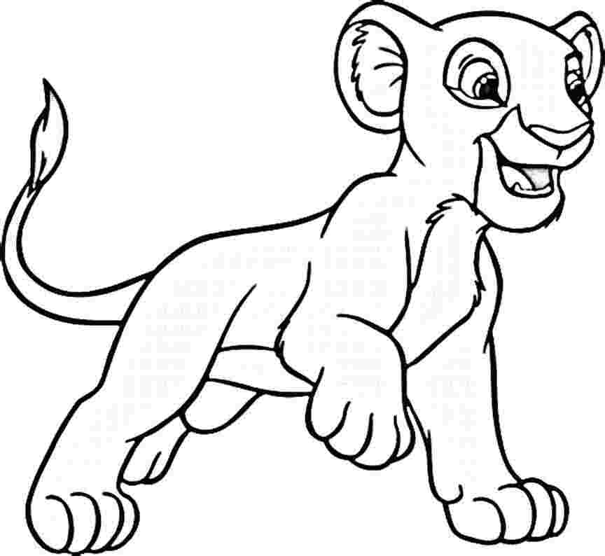 864x794 Baby Lion Coloring Pages Many Interesting Cliparts