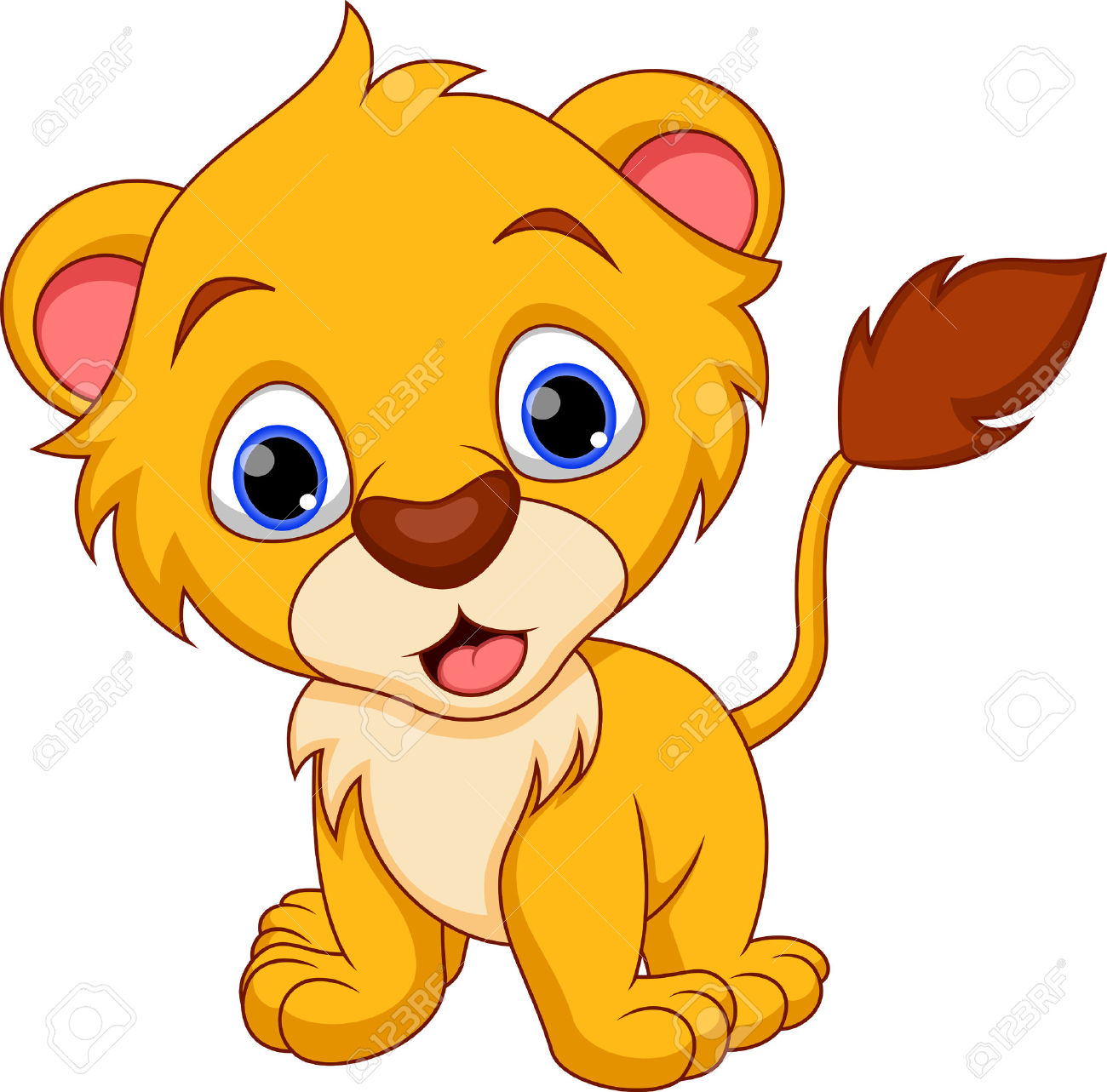 1300x1283 Lion Cub Clipart