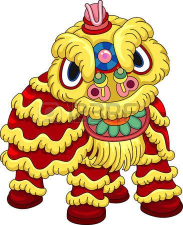 366x450 Costume Clipart Lion Dance