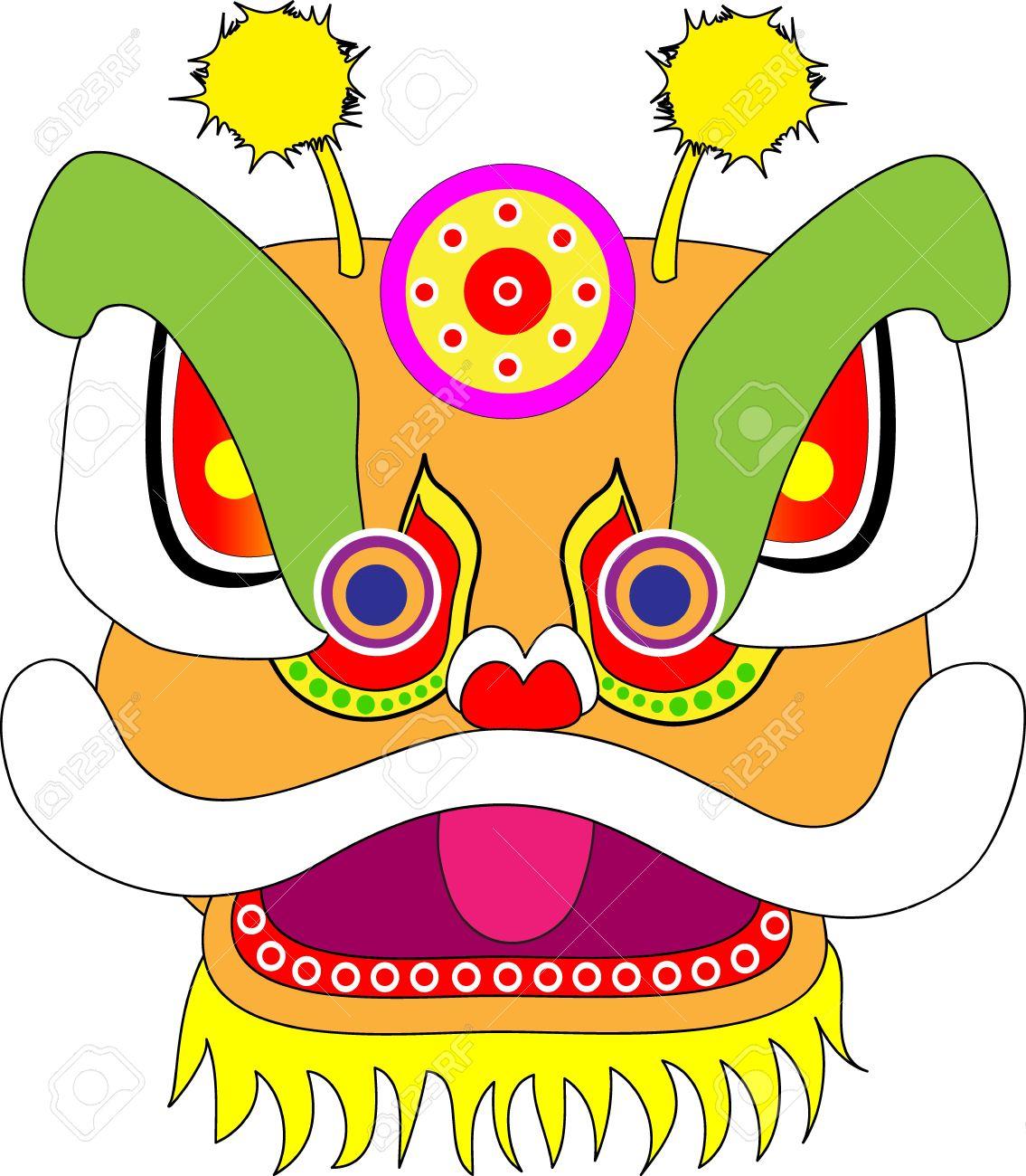1135x1300 Head Clipart Lion Dance