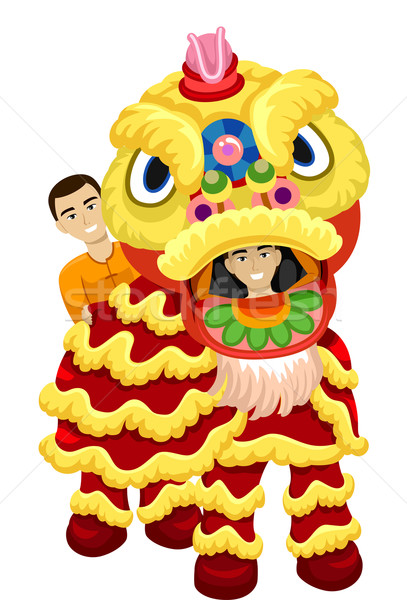407x600 Lion Dance Stock Photos, Stock Images And Vectors Stockfresh