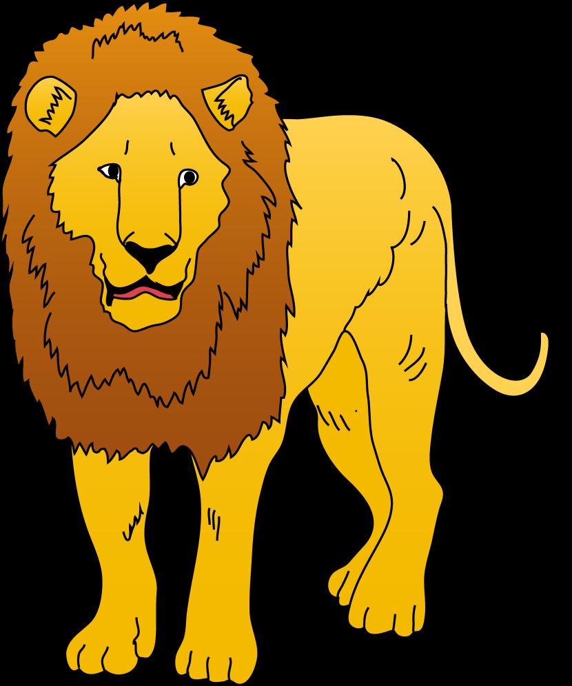 830x996 Lion Clip Art