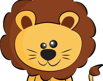 340x270 Lion Clip Art Etsy