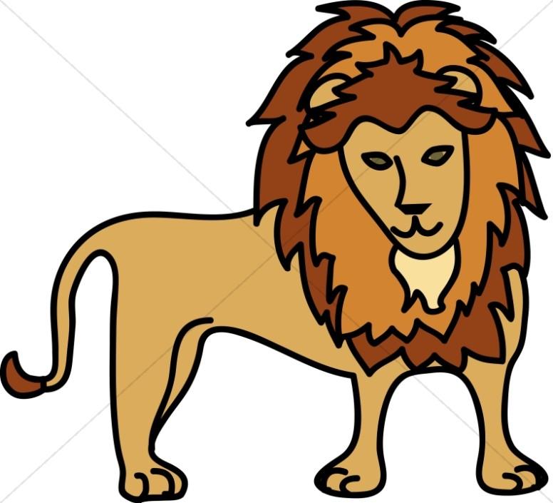 776x705 Simple Lion Wildlife Clipart