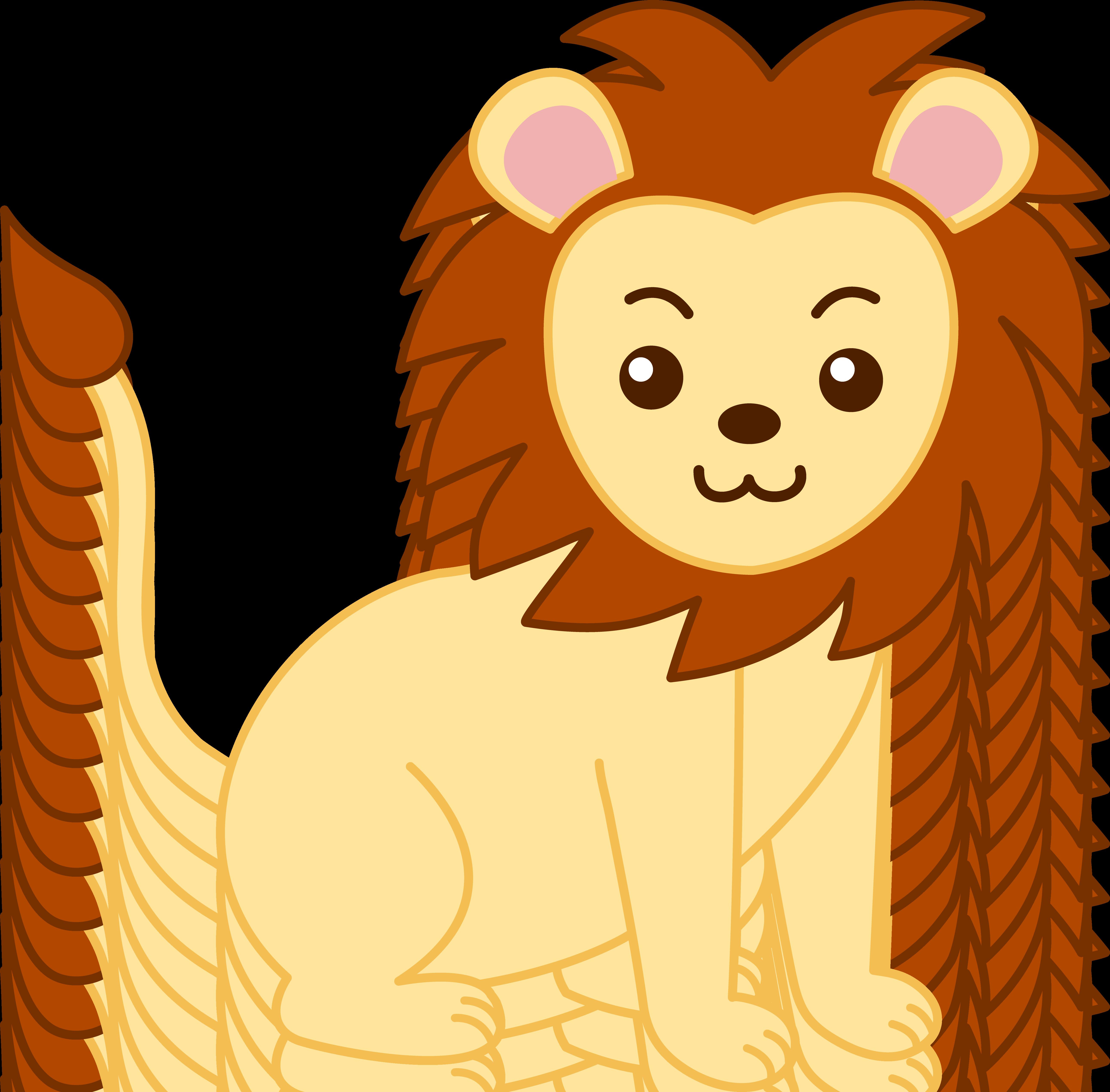 5171x5087 Face Clipart Baby Lion