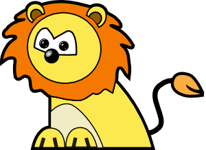 300x218 Free Lion Clip Art Is King Of The Internet