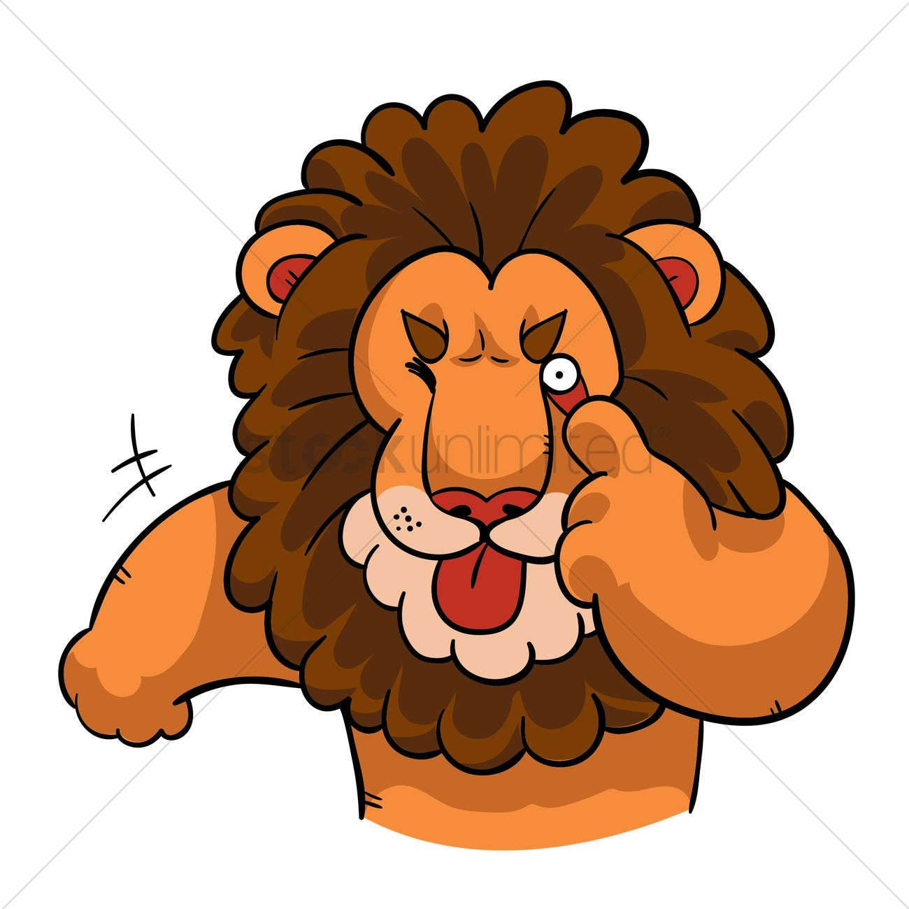 1300x1300 Free Lion Face Stock Vectors Stockunlimited