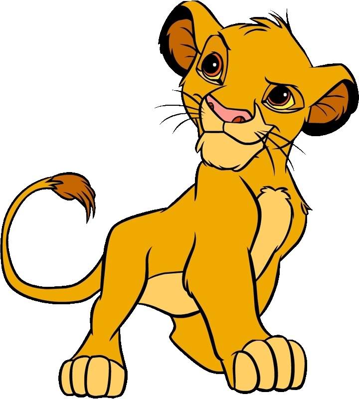 720x800 Head Clipart Lion King
