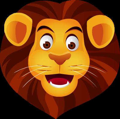 400x395 Lion Face Clip Art Dromgbg Top