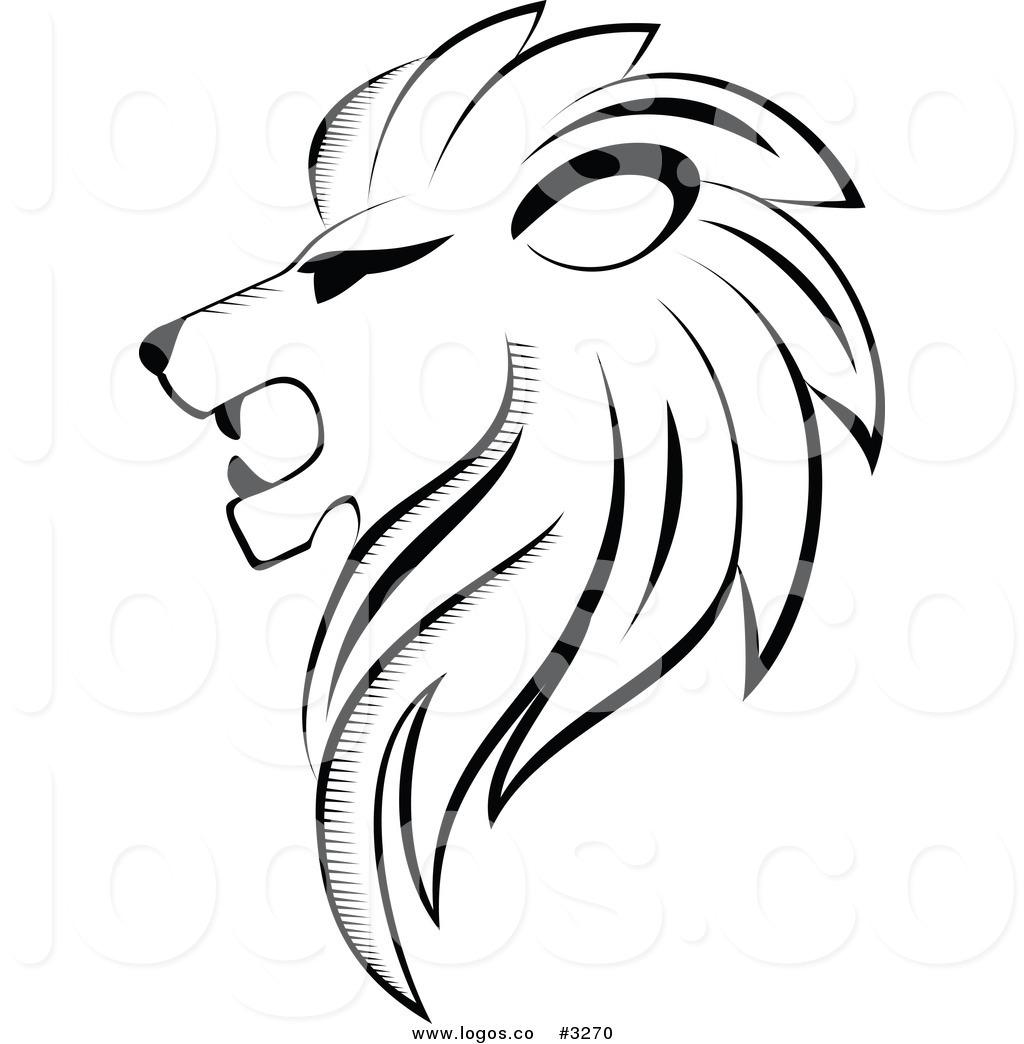 1024x1044 White Lion Clipart Lion Profile
