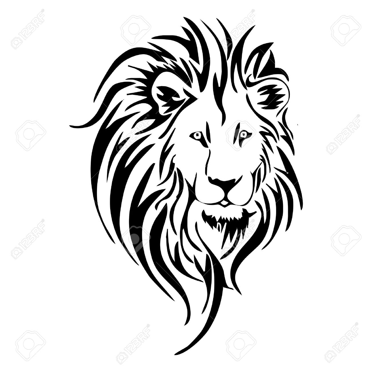 1300x1300 Aslan Clipart Black And White Outline