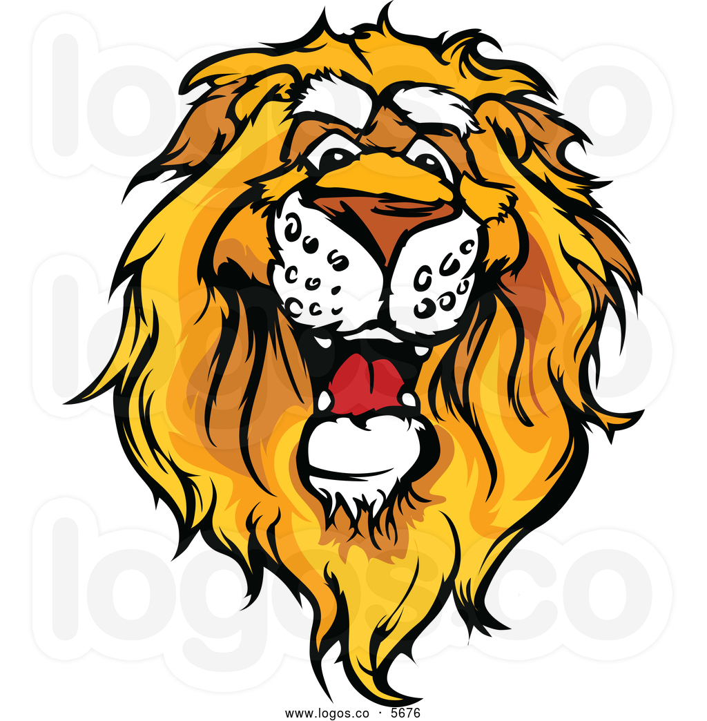1024x1044 Cute Lion Head Clipart Royalty Free Vector Of A Logo Of A Friendly