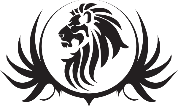 600x366 Lion Black And White Lion Face Clipart Black And White