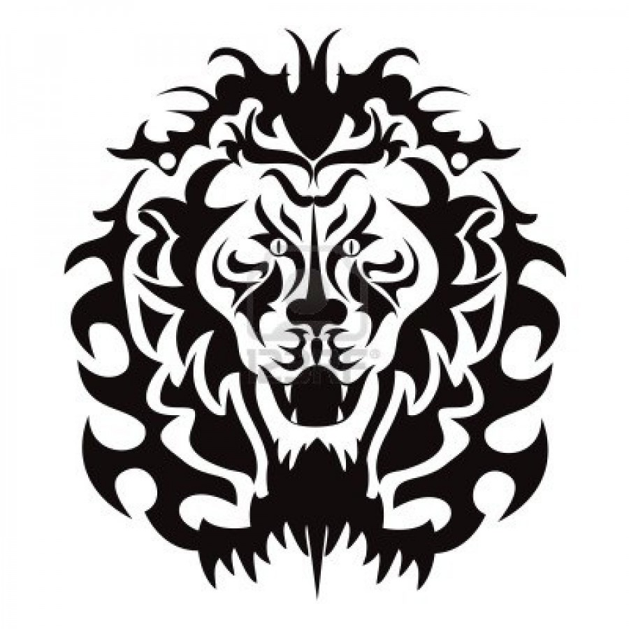 900x900 Roaring Lion Clip Art