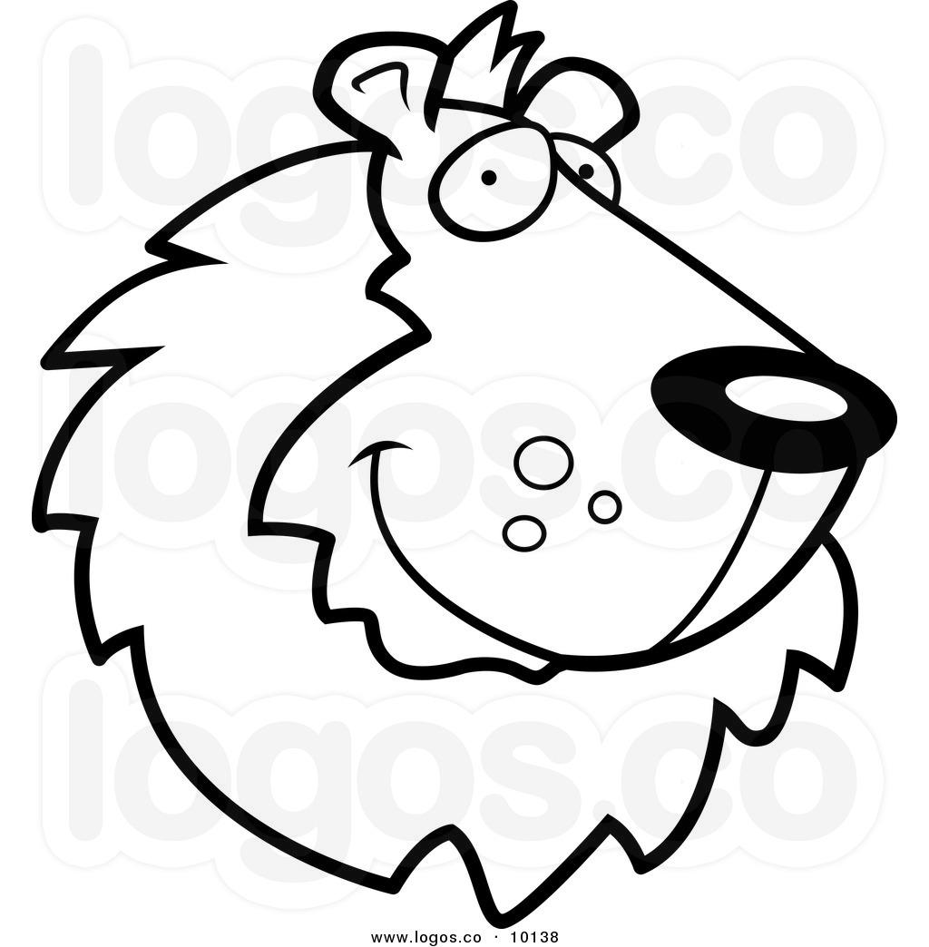 1024x1044 White Lion Clipart