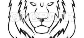 272x125 Clipart Lion Head 101 Clip Art On Lion Face Clip Art