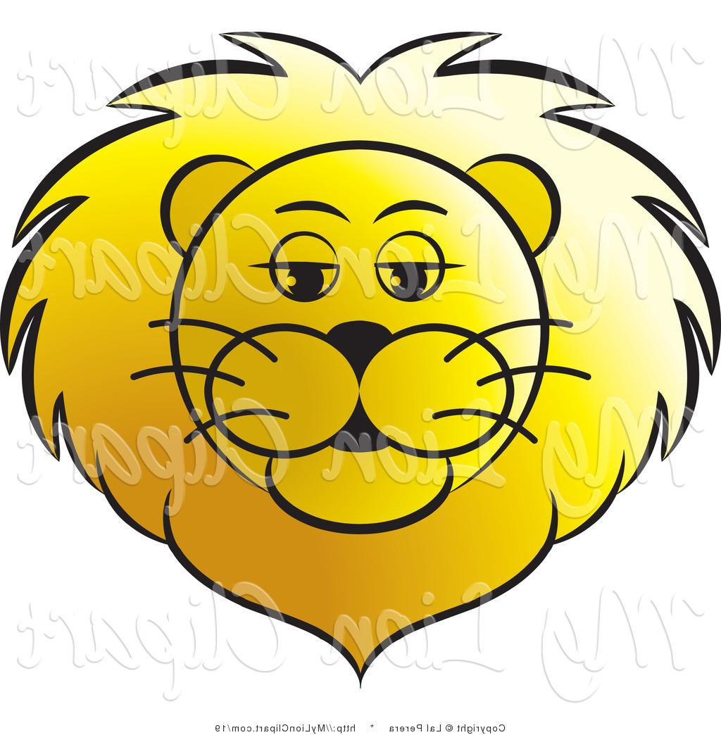 1024x1044 Best 15 Vector Clipart Of Golden Lion Face By Lal Perera Design