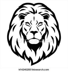 236x249 Lion, Head Amp Silhouette Vector Images (Over 290)
