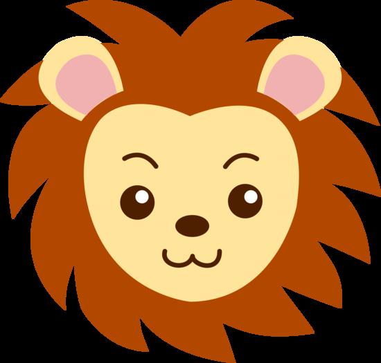 550x525 Lion Face Clipart