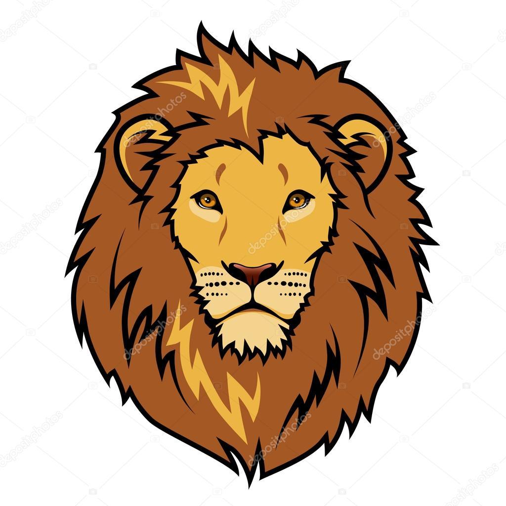 1024x1024 Czeshop Images Mean Cartoon Lion Face