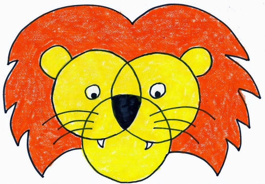 1024x711 Lion Face