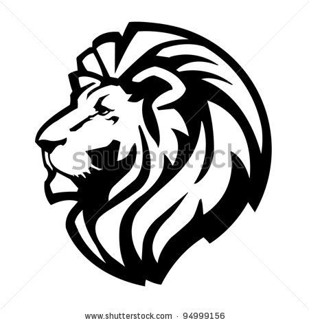 450x470 Best Lion Silhouette Ideas Lion Stencil, Lion